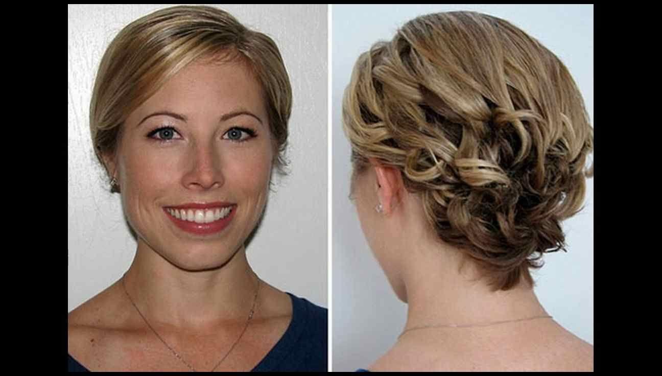 Brautjungfer frisuren für kurze haare die frisuren trends  YouTube