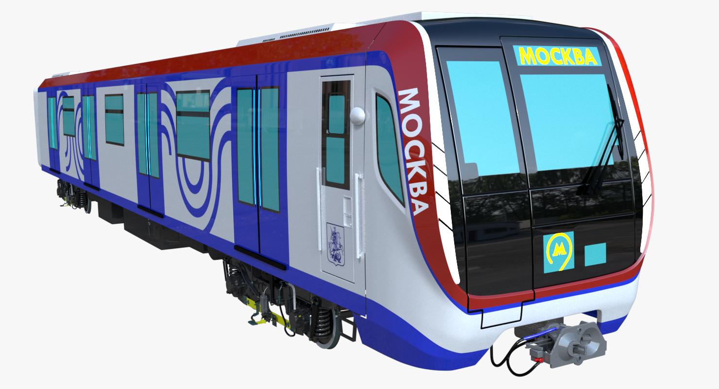 Moscow Metro Train 3d Model Moscow Metro Train Metro Rail