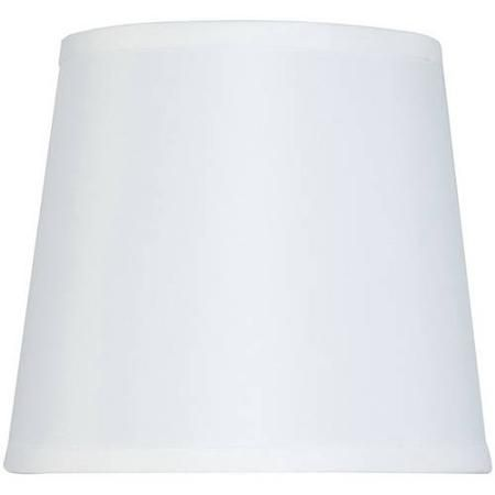 Mainstays Drum Lamp Shade Walmart Com White Lamp Shade Lamp Shade Drum Lampshade