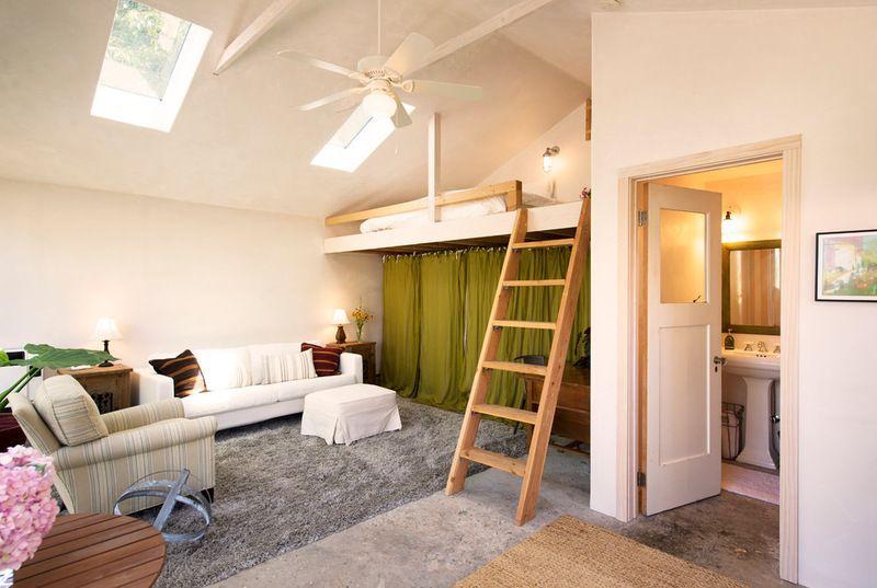 Contemporary Living Room By Beth Dana Design Garage To Living