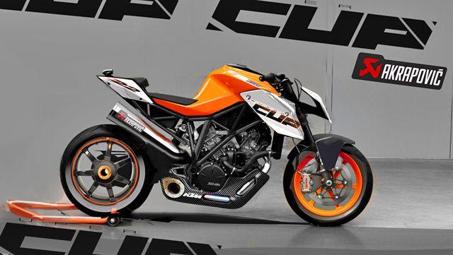 1290 Super Duke R Bike Sketch Motorcycle Ktm