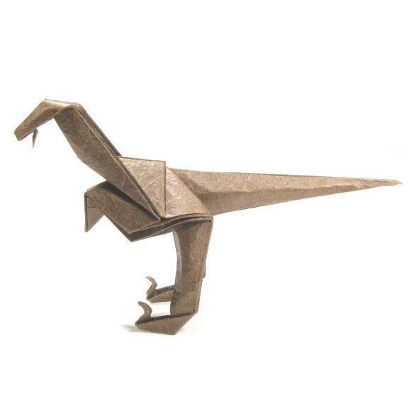 How To Make A Simple Origami Velociraptor Httporigami Make