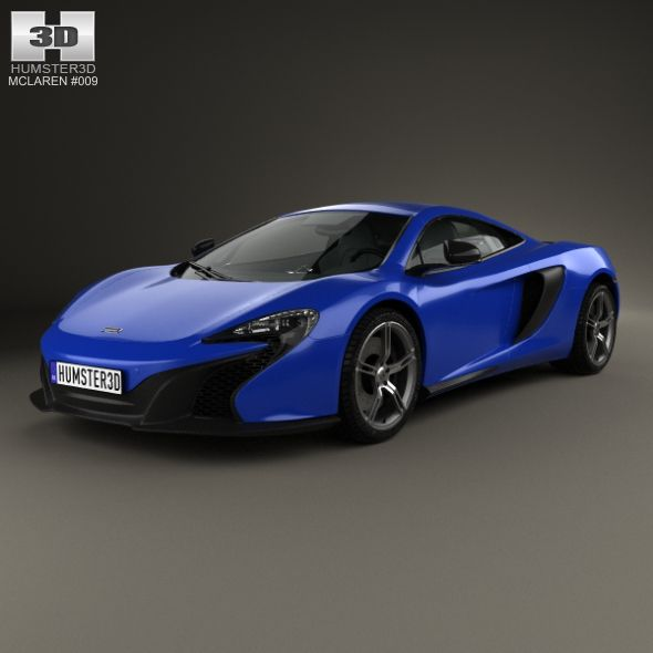 McLaren 650S Coupe 2014. Fully Editable And Reusable 3D