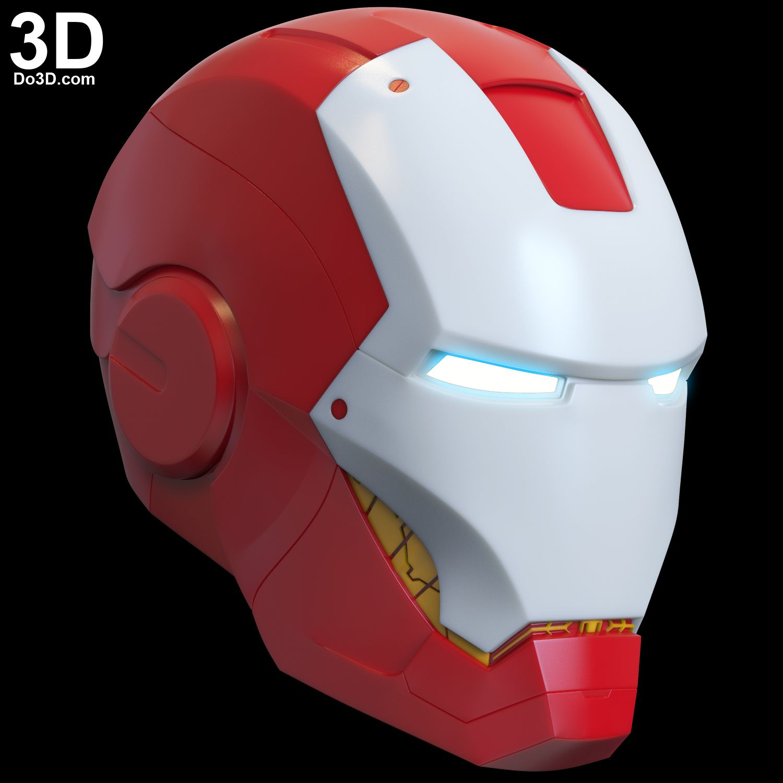 3D Printable Model: Mark VII Helmet (MK 7 Premium Quality