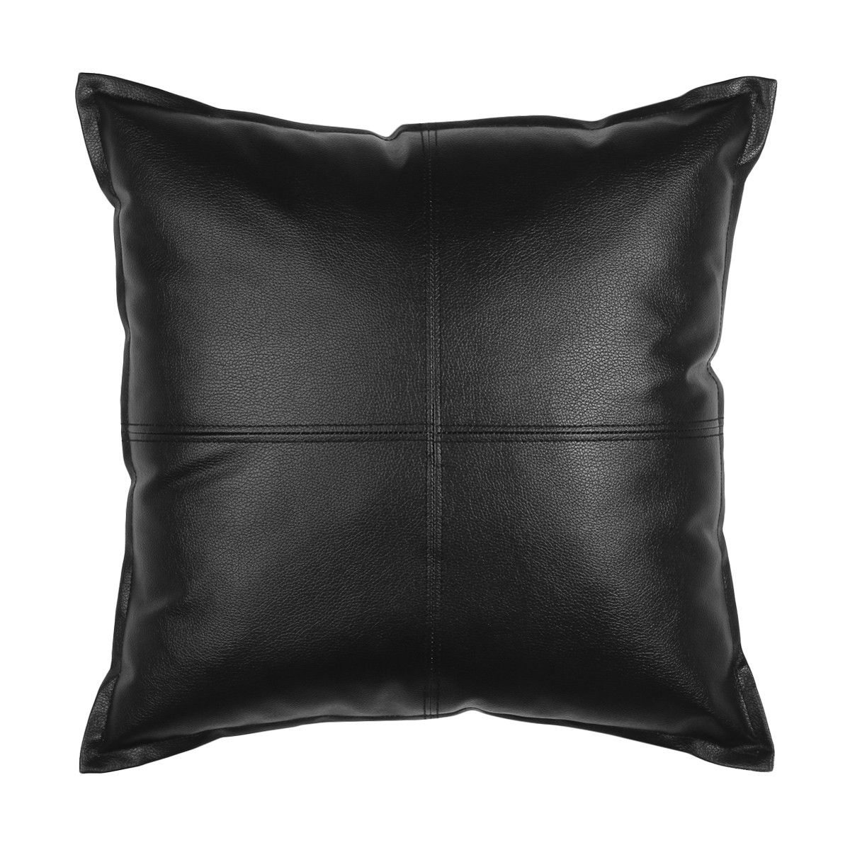 Harley Cushion Black Kmart Kmart decor, Leather