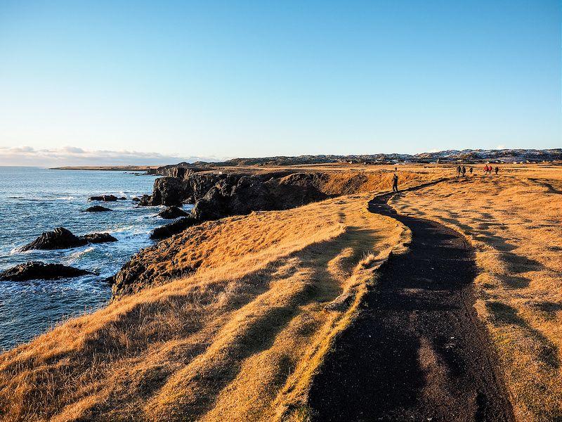 The Wild Beauty of the Snaefellsnes Peninsula-- Arnarstapi to Hellnar coastal path