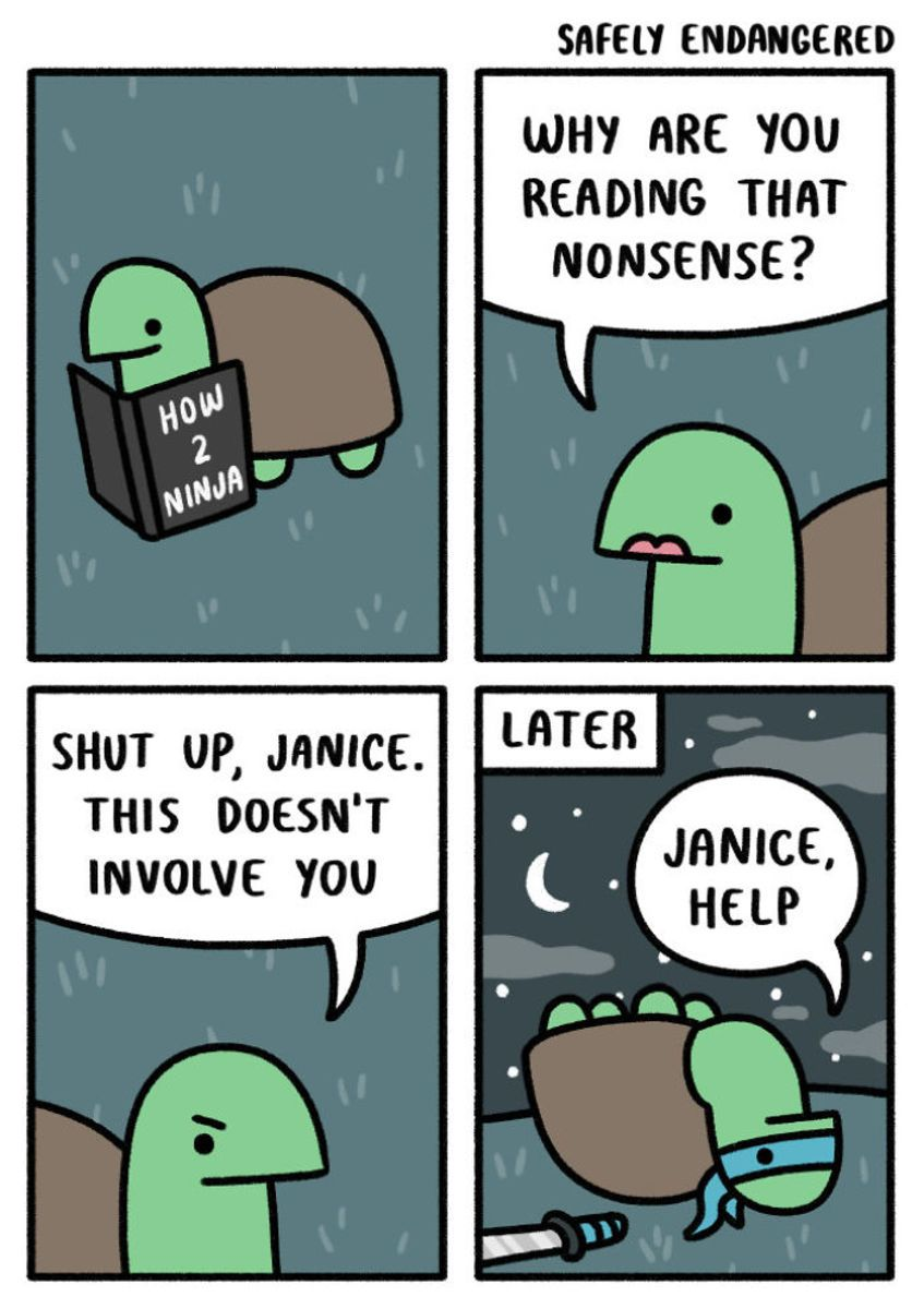 Hilarious Comics That Deal With Everyday Life Through Absurd - 20 hilarious comics that deal with everyday life through absurd humour