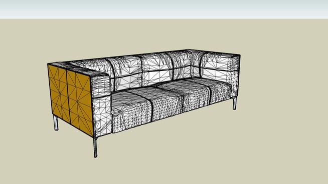 Large Preview Of 3d Model Of Poltrona Frau Bosforo 2 Seater Sofa Large Sofa Large Sofa 2 Seater Sofa