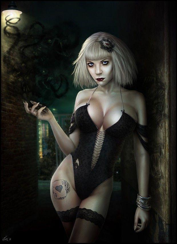 Cgi erotic dark fantasy