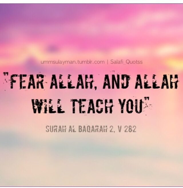 Taqwah of Allaah
