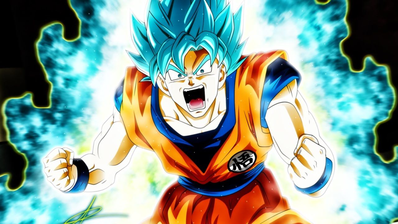Goku Super Saiyan Blue Wallpaper Goku Goku Super Saiyan Hd