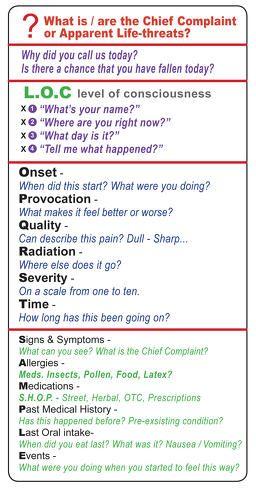 Image Result For Medical Assessment Emt Cheat Sheet EMT