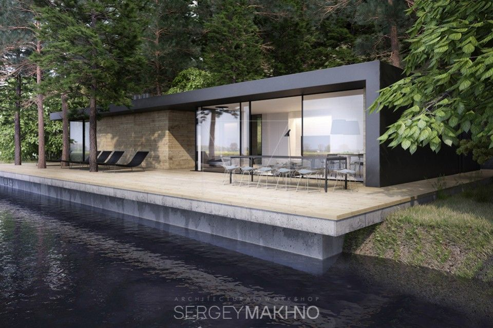 Фото — Line House — Design of houses and cottages