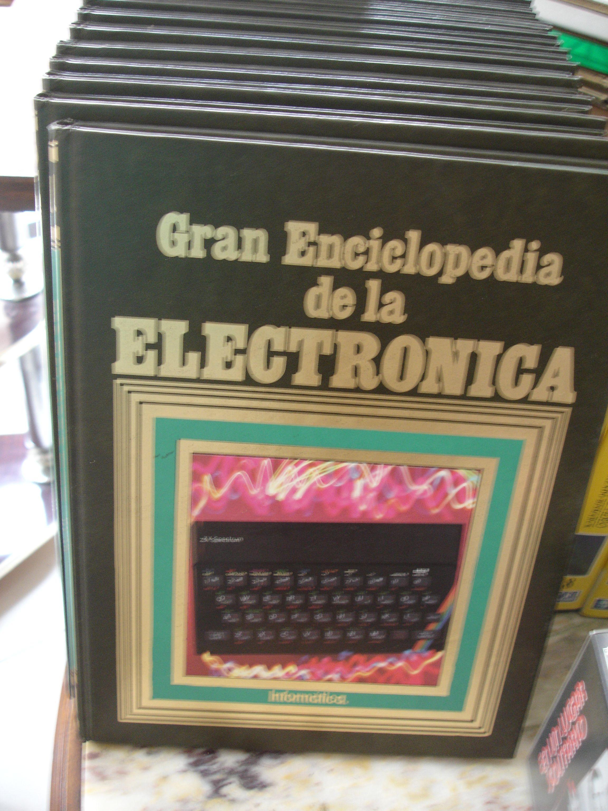 Enciclopedia Electronica Ao 1984 Ediciones Nueva Lente 12 Tomos Light Sensor Switch Circuit Using Jkflipflop Eleccircuit