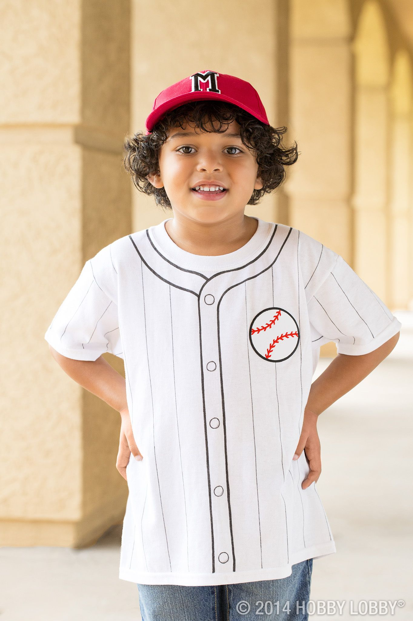 take a plain white t-shirt and turn into into a costume your kiddo