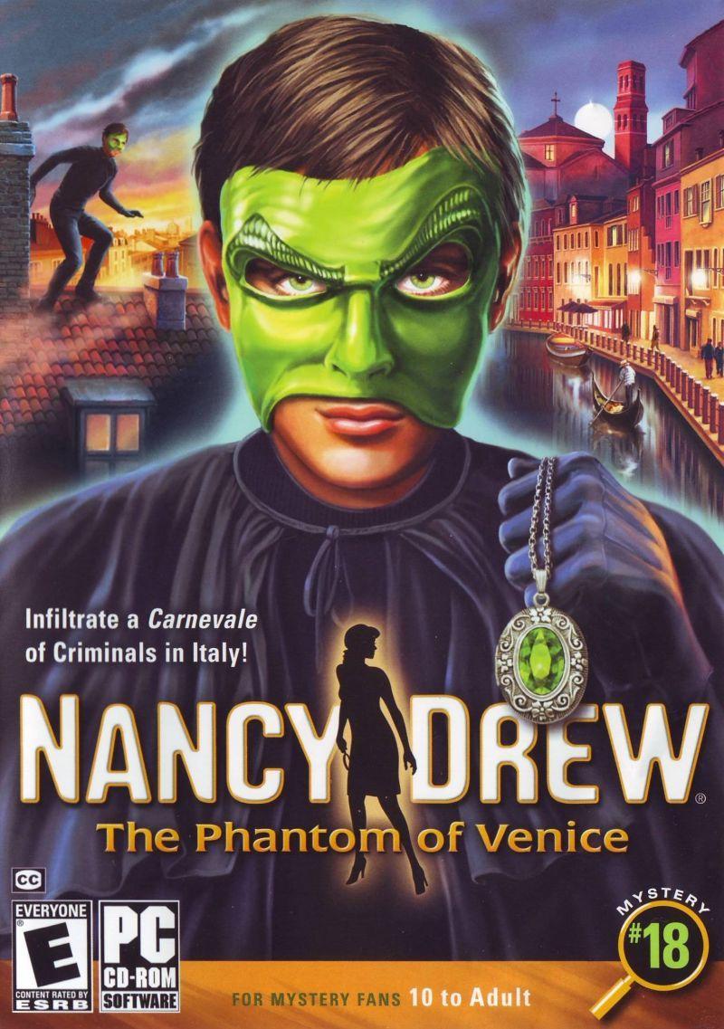 Nancy Drew The Phantom of Venice (2008) Windows box cover
