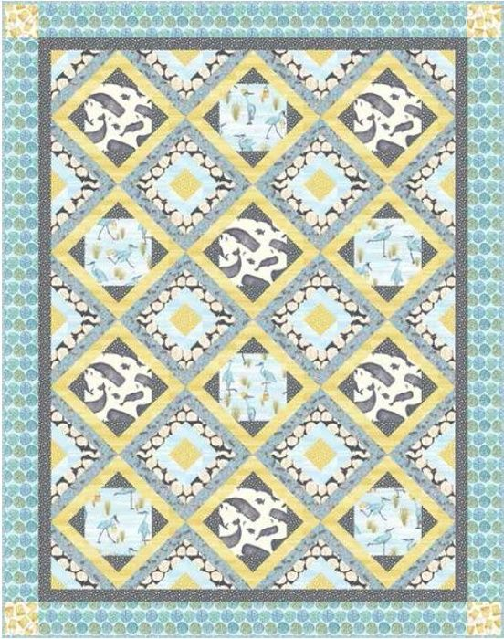 Barnacle Bay Quilt #2 | | Fabric Projects | Studioe Free Projects ... : quilting catalogs free - Adamdwight.com