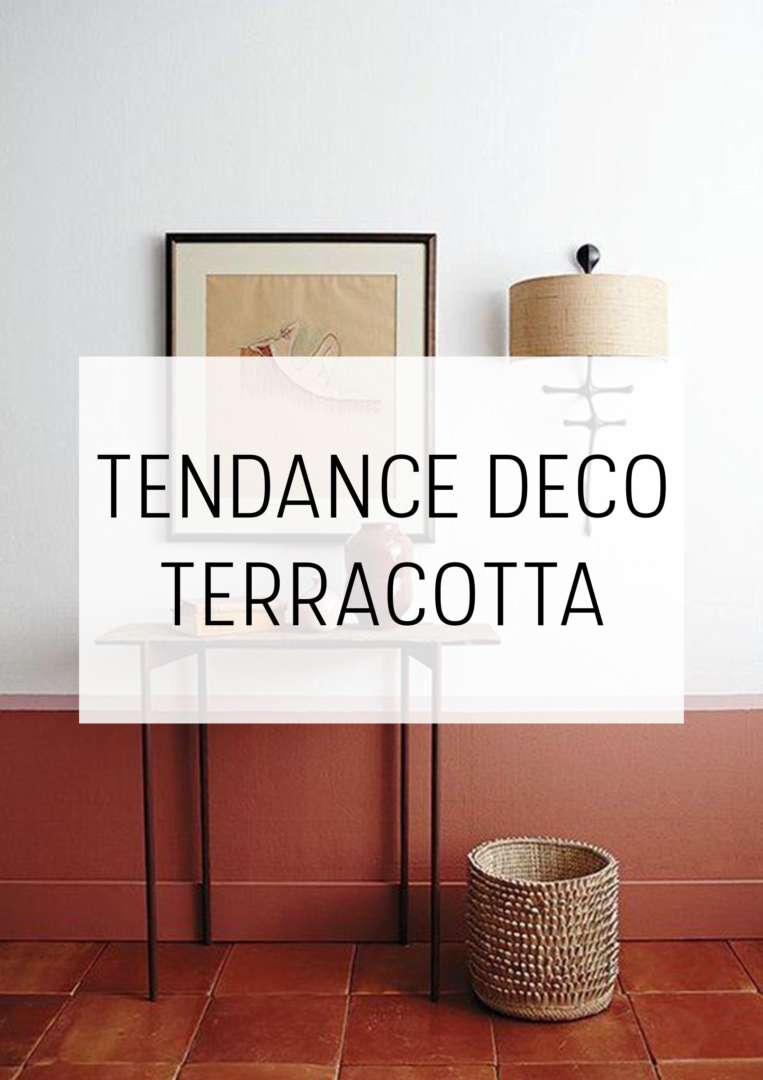 TENDANCE DÉCO TERRACOTTA