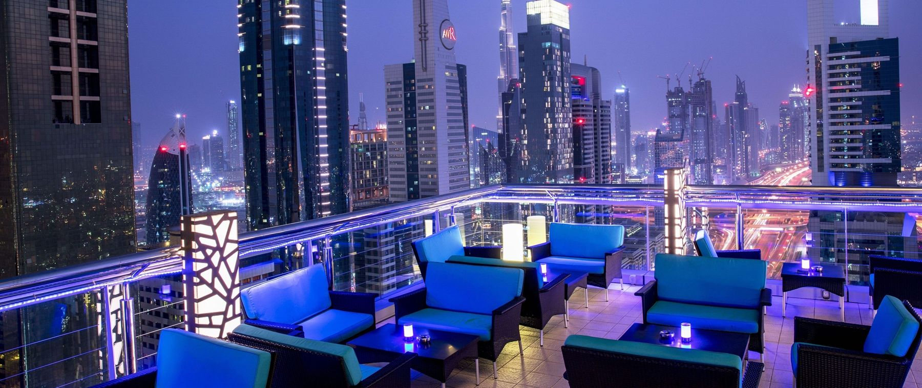 Rooftop Lounge And Bar In Dubai Level 43 Sky Lounge Rooftop