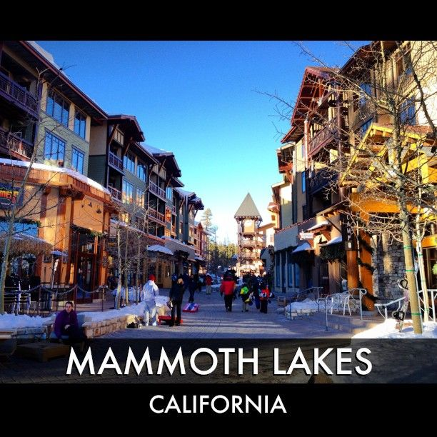 The Village At Mammoth Lakes January 2017 Campo Bottom Right Is Absolute Best Restaurant