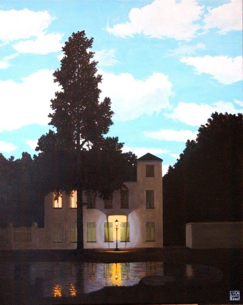 René Magritte,  l'empire des lumières, 1954
