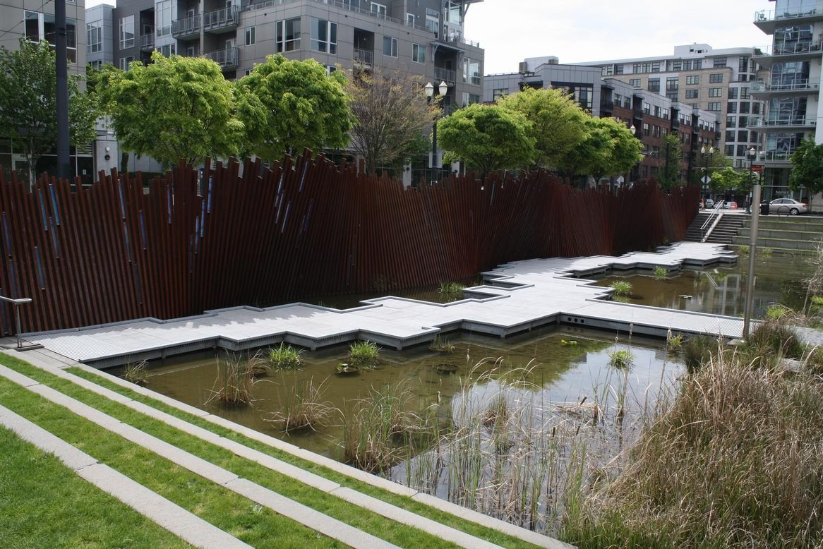 Tanner Springs Park A Lesson In History And Sustainability Spring Park Landscape Design Park