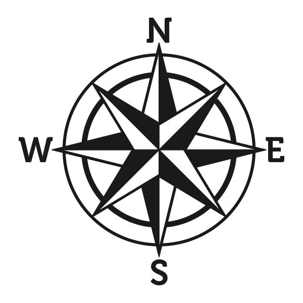 Compass Rose Svg Cuttable Designs Compass Drawing Compass Rose Compass Art