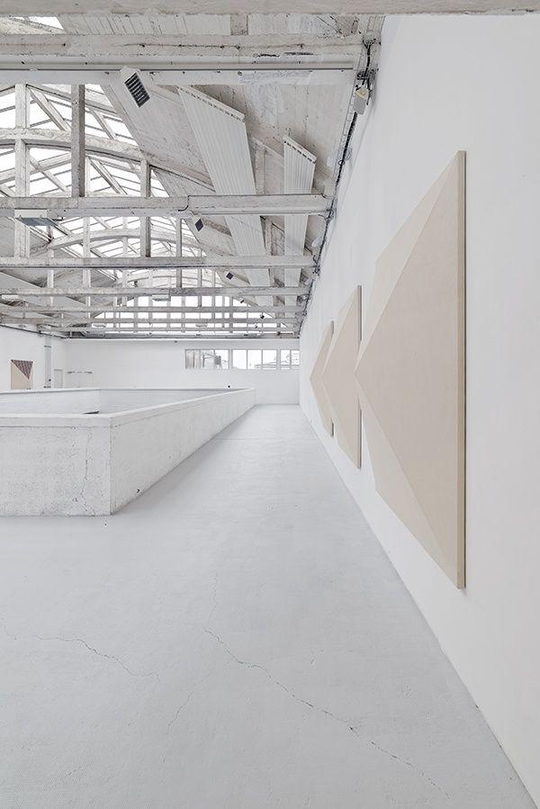 """Frederik Værslev """"Querelle of Brest"""" at PASSERELLE Centre d'art contemporain, Brest, 2015"""