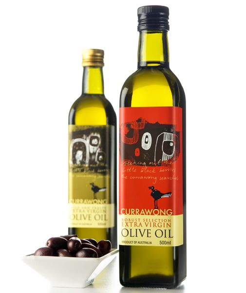 curawong - Olive oil label