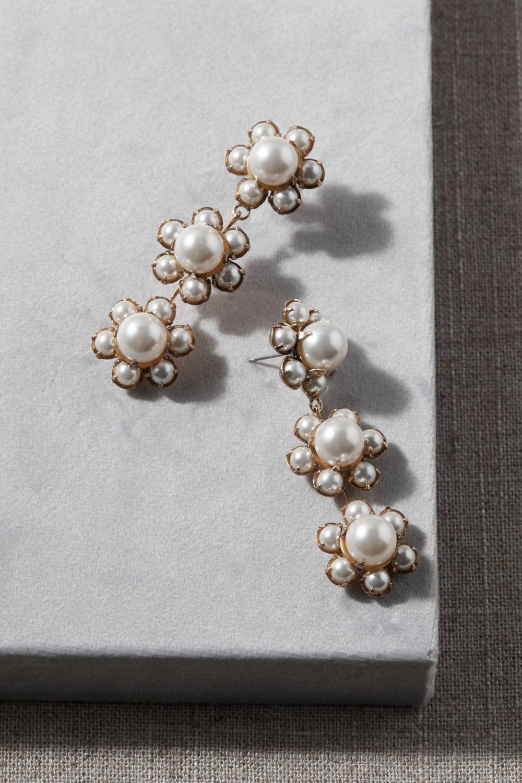 Jennifer Behr Costanza Earrings Black sapphire jewelry