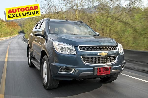 Chevrolet S Trailblazer Is A Full Sized Suv That Gm Is Bringing To