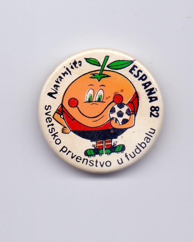 Espana '82 Sticker Argentina Flag Copa Mundial Del Futbol 1982