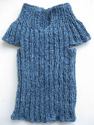 Ravelry: Roundabout DK ribbed baby vest pattern by Emmy ...