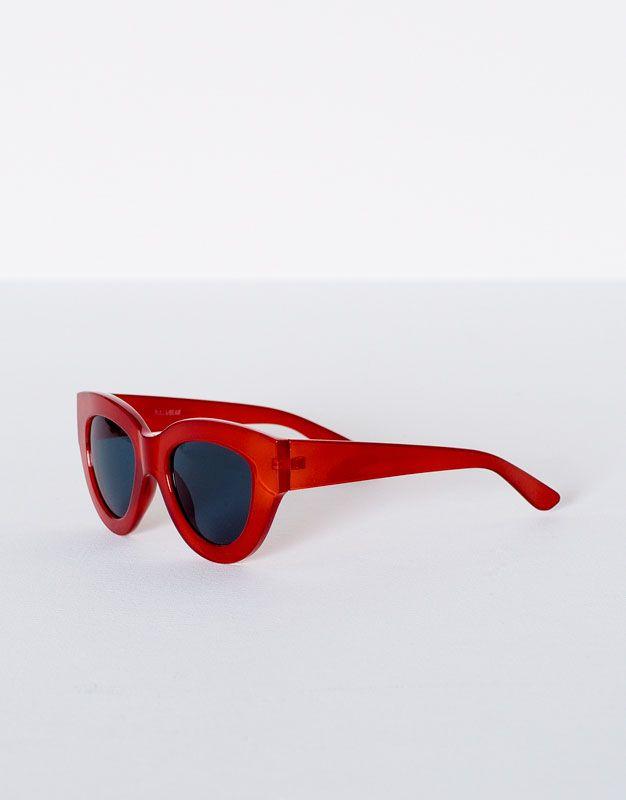 f5cf92b810 Gafas pasta rojas - Gafas de sol - Accesorios - Mujer - PULL&BEAR España