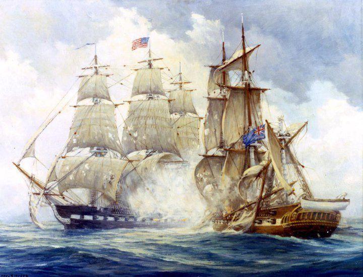 Uss Constitution Vs Hms Java 29 December 1812