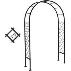Photo of Rose arch pergola metal rose arch garden arch rose column Luxembourg