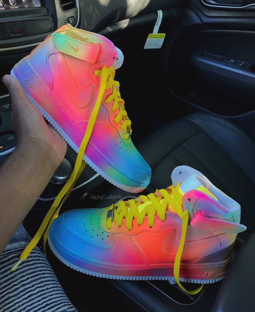 online retailer e0314 5a7dc Image of Cotton Candy Mid AF1S 🍭 | Nike in 2019 | Shoes ...