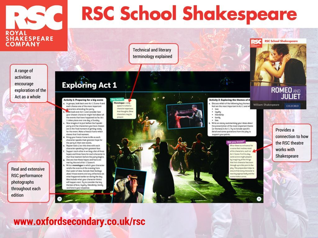 Take A Sneak Peek Inside Our Brand New Rsc School