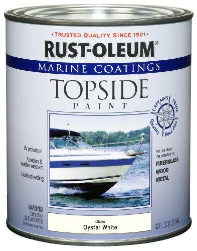 Paint For Shower And Bathroom Rust Oleum 207001 Marine Topside Paint Oyster White 1 Quart Rust Oleum Rustoleum Marine Paint Sand Beige