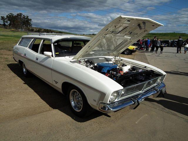 1974 Ford Xb Falcon 500 Gs Station Wagon Australian Cars