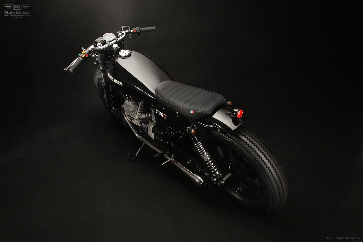 Moto Guzzi V35 'Diabola' | Venier Customs