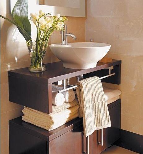 Resultado de imagen para vanitorys minimalistas pequeños Baño - muebles para baos pequeos