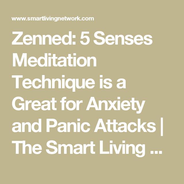 relaxation techniques 5 senses