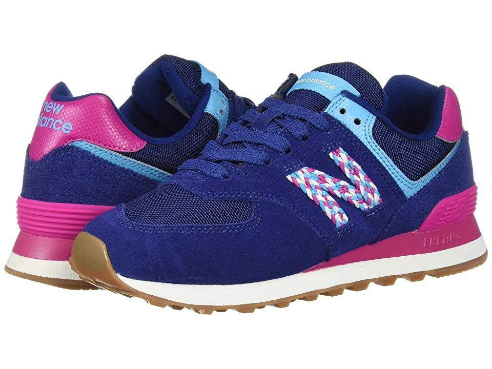 New Balance Classics 574v2 Women's Shoes Techtonic Blue