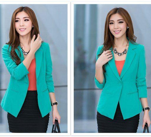 Baju Atasan Blazer Blezer Jas Wanita Formal Utk Kerja