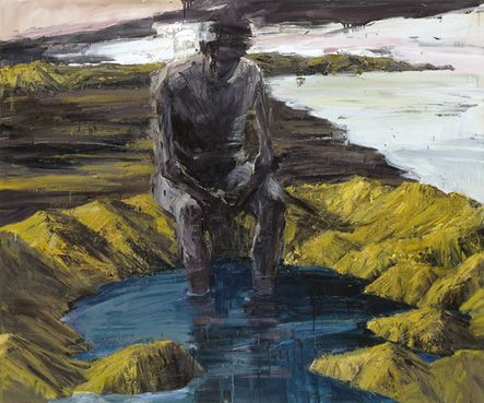 Image result for feet in river paintings