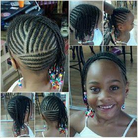 Hair CHALLENGES Coiffures pour enfants coiffure
