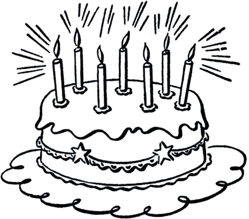 birthday cake with lots of candles clipart httpbirthdaycake