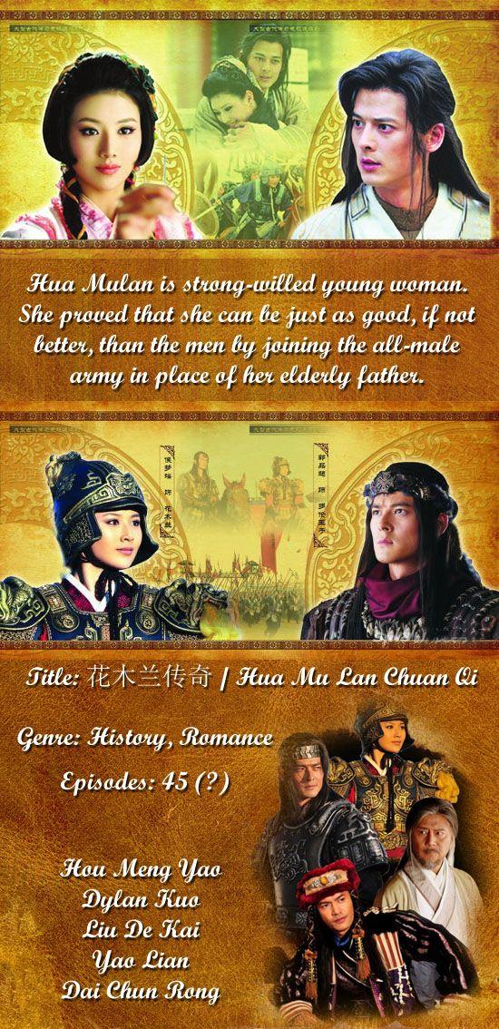 The Legend of Hua Mulan - Watch Full Episodes Free - China - TV Shows - Viki b164aa347dfb