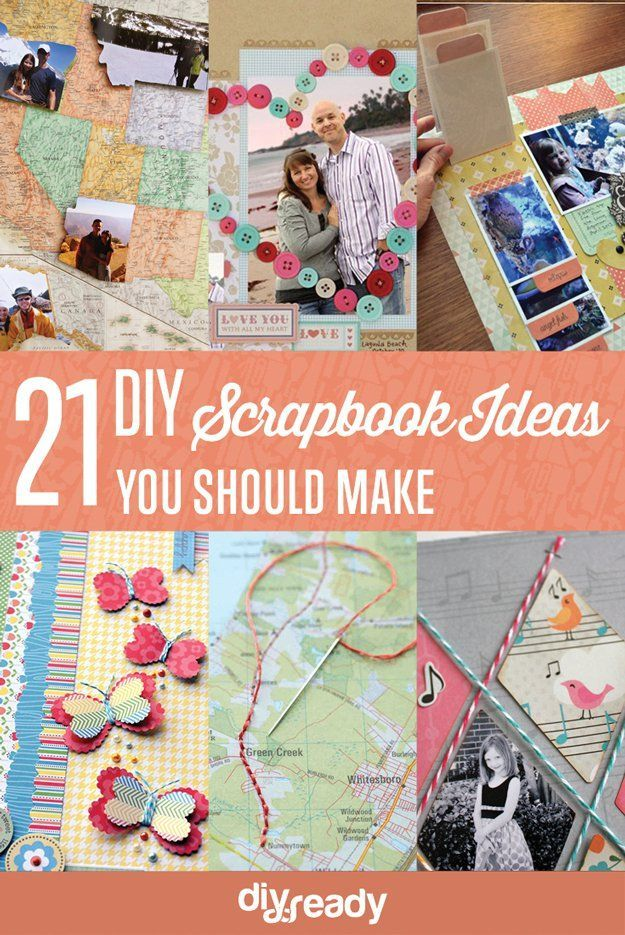 21 DIY Scrapbook Ideas You Should Make